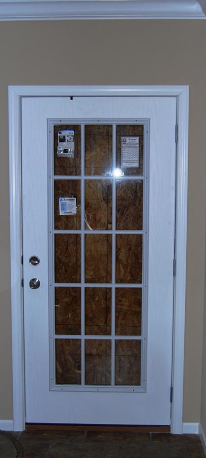 exterior single french doors