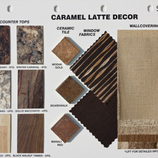 Caramel Latte Decor