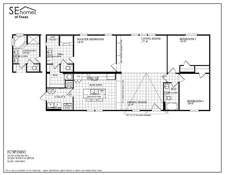 Southern energy mobile homes floor plans for Southern energy homes floor plans