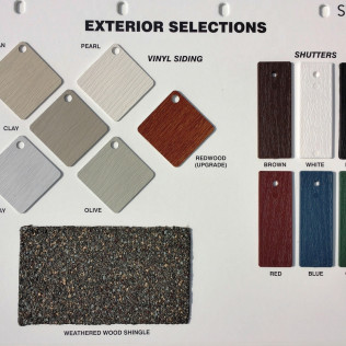Exterior Selections