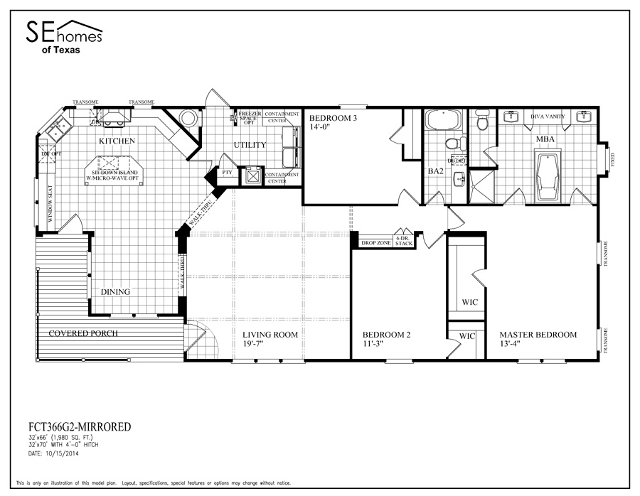Southern Energy Homes Floor Plans House Plan 2017
